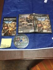 Call Of Duty 3 Playstation 2 PS2 Black Label Complete Adult Owned