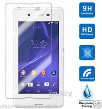Tempered Glass Screen Protector For Sony Xperia C4 C5 M5 Z3 Z5 Compact