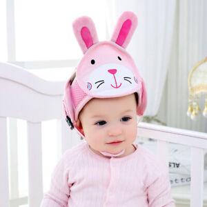 Kleinkind Baby Schutzhelm scherzt Kopfschutz Hut Gehen kriechend Verstellbare w