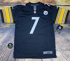 Nike Youth Pittsburgh Steelers Ben Roethlisberger Football Replica Jersey #7 NWT
