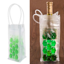 Wine Bottle / Ice Bag Cooler Cool Rapid Can Cooling Gel Holder PVC Gift Party