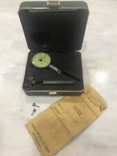 Machinist Dial Indicator Federal Testmaster