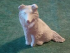 Collie Dog puppy canine 3.75 inch animal READY TO PAINT CERAMIC BISQUE CRAFT