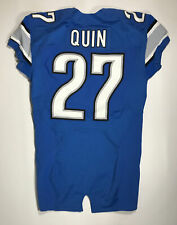 2016 Detroit Lions Glover Quin Game Issued Jersey Size 42
