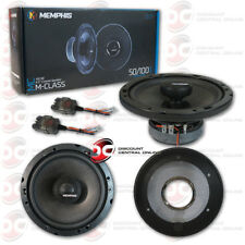 NEW MEMPHIS MCX 6.5 INCH 2-WAY CAR AUDIO SPEAKER SYSTEM 6.5
