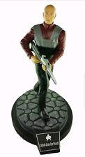 "Star Trek Captain Picard Figure 12"" Cold Cast Man Cave Decor New In Box"