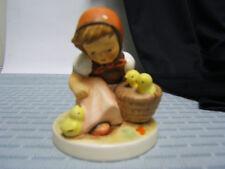 "Hummel ""Chick Girl"" Figurine 3 1/4"" Tall TMK 6 Exc Condition HUM57/2/0 1984"