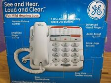 GE See and Hear Speaker Phone for Mild Hearing Loss, Model 29568