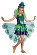 Child Large Peacock Girls Costume - Halloween Costumes