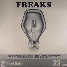 """Freaks - Where Were You When The Lights Went Out 12"""" VG+ MFF12028 UK House 2003"""