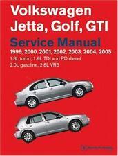 Volkswagen Jetta, Golf, GTI Service Manual: 1999-