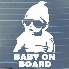 COOL Baby on Board window STICKER DECAL VAN CAR COLOUR DUB JDM