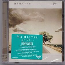 MR. MISTER - GO ON - ROCK CANDY EDITION - REMASTERED CD - FACTORY SEALED