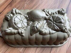 Nordic Ware Lemon Citrus Loaf Nonstick Cake Bread Bakeware Pan