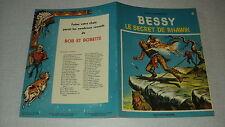 BESSY 084 LE SECRET DE RHAWIK STUDIO VANDERSTEEN 1970