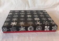 New ListingSaks Fifth Avenue Designer Wilson Bentley Snowflake Large Holiday Gift Box