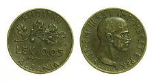 pci2459)  Albania Vittorio Emanuele III 0,05 Lek 1940 KM 27