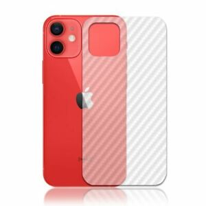 TOP QUALITY CARBON FIBRE BACK PROTECTOR FILM GUARD COVER FOR IPHONE 12 MINI