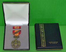Vietnam Gallantry Cross Presentation Display Set: Full Size Medal, Ribbon, Case