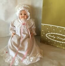 "Horsman Reproduction BABY DIMPLES 125th Anniversary 1990 19"" Original Box"