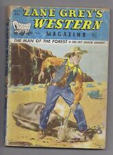 Zane Grey's Western Mag Jun 1949 Pulp B M Bower John E Kelly Mark Lish Dan Duane