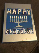 Chanukah Cards, Box of 20, Nib, 5�x3.5�