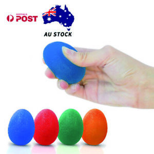 RMS 4-Pack Hand Therapy Stress Relief Exercise Balls Hand Grip Strengthener Fing