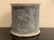 Murano Cenedese for Seguso Vetri D' Arte Scavo Glass Planter or Ice Bucket