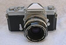 Rare Nikkormat FS plus Early 50mm f2.0 Nikkor-H Lens
