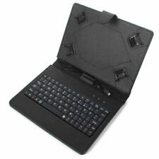 """US For RCA 7""""-10.1"""" Android Tablet Leather Micro USB Keyboard Stand Case Cover"""