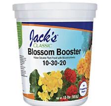 Jacks Classic Blossom Booster 10-30-20 fertilizer plant food 1.5lb
