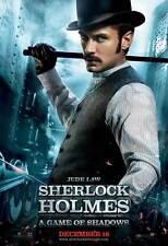 SHERLOCK HOLMES A GAME OF SHADOWS Movie Promo POSTER I Robert Downey Jr.