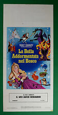 L26 LOCANDINA LA BELLA ADDORMENTATA NEL BOSCO WALT DISNEY BEAUTY SLEEPING 2