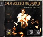 GREAT VOICES OF THE OPERA- Fernando De Lucia/Antonio Paoli/Piero Pauli Best 2-CD