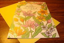 Easter : For Mother and Dad at Easter / Easter greeting Card New e40
