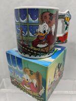 Mickey Mouse Christmas Carol Mug Scrooge McDuck Applause Walt Disney Accountant