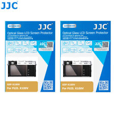 2X JJC Camera Tempered Glass Screen Protector Cover for Fujifilm X100V X-T4 XT4