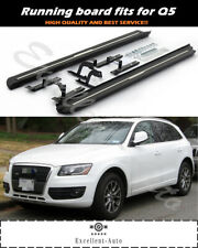 fits for Audi Q5 2009-2018 stainless steel running board side step nerf bar