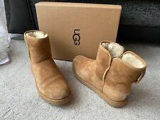UGG Cory  Chestnut leather suede short boots, UK size 6.5,EUR39,USA 8