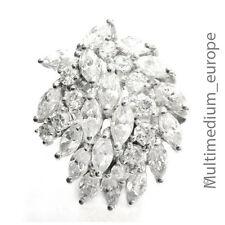 Zirkonia Silber Ring 925 sterling silver zirconia Traumstück