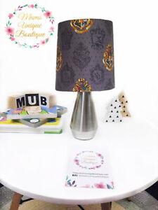 Harry Potter Crest House Children Nursery Table Lamp Night Light Touch Lamp