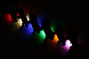 White LED Roller Skate Lights
