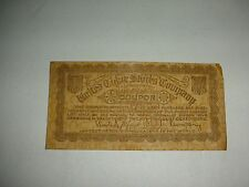 United Cigar Stores Company Coupon - 1/5