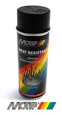 bombe spray peinture motip noir mat haute température 800° echappement pot