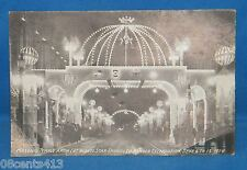 "1914 Vintage Post Card Masonic Temple Arch ""Star Spangled Banner Celebration"""