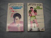Elvis Presley  in  KID GALAHAD /& FRANKIE AND JOHNNY VHS TAPES