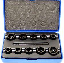Bergen 11pc Bolt Extractors Socket Lock Nut Remover Extractor  2581