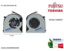 Ventola Fan 7 cm (versione 2) Fujitsu Lifebook A514 A544 A556 Ah544 Ah564 Dfs5