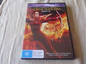 The Hunger Games - Mockingjay : Part 2 (DVD, 2018) Region 4 Jennifer Lawrence