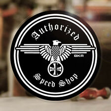 Blitzkrieg Racing Authorized Speed Shop Sticker Aufkleber Autocollante